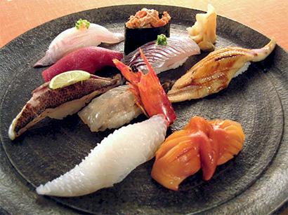 とり松のにぎり寿司